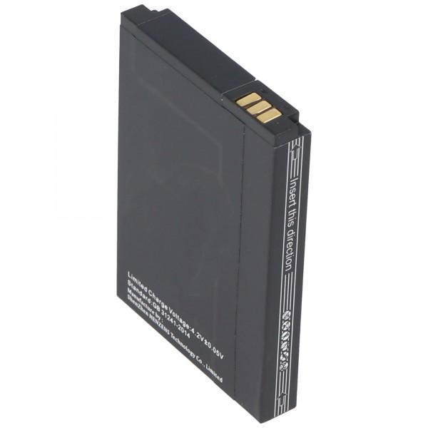 Batterie rechargeable Caterpillar CAT B10 UP704060AL en réplique de la batterie AccuCell