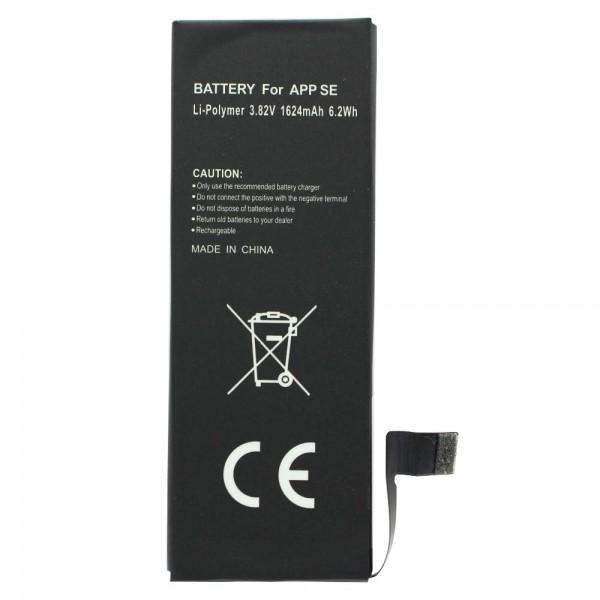 Batterie pour Apple iPhone SE 616-00107, 1600mAh
