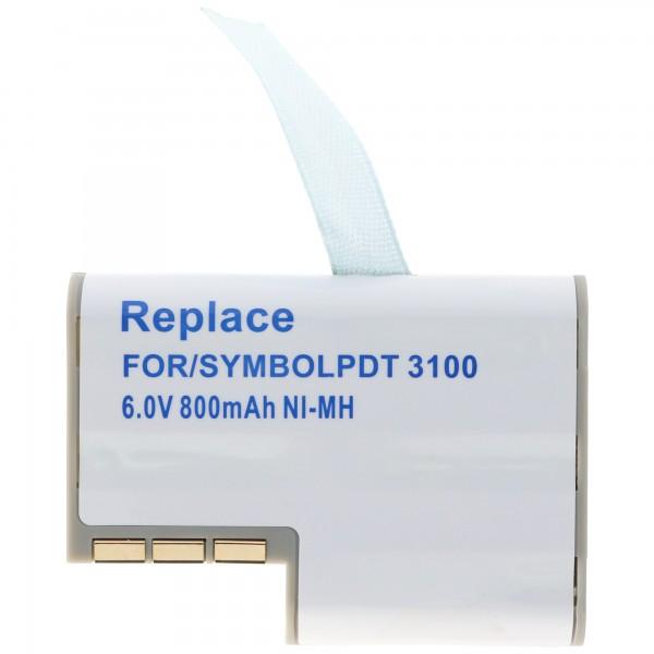 AccuCell batterie adaptée pour Symbol PDT3100, 3110, 3120, 3140, 3142