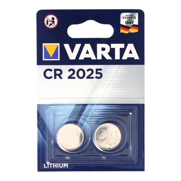 Emballage blister Varta CR2025 2er