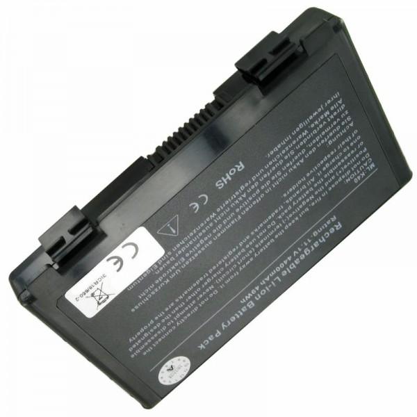 AccuCell batterie adaptée pour Asus A32-F82, 11.1V avec 5200mAh