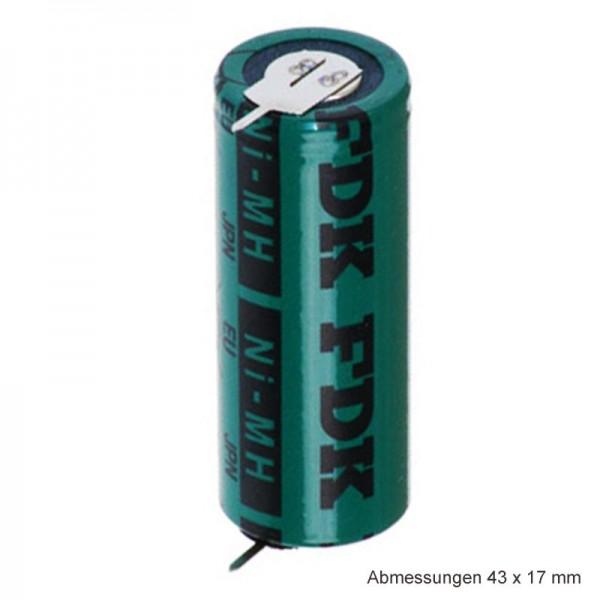 Sanyo HR-4 / 5AU Pile NiMH rechargeable 4 / 5A avec impression recto sur les deux côtés