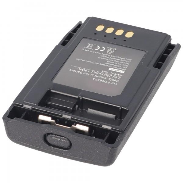 MOTOROLA TETRA MTP850, FTN6574A Batterie rechargeable en réplique de AccuCell