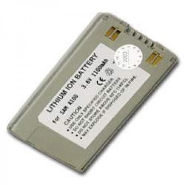 Batterie AccuCell adaptable sur Samsung SGH A100, A110, 1100mAh